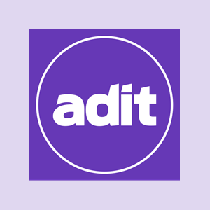 ADIT Logo Curated Background