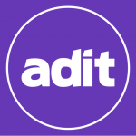 ADIT Logo Purple