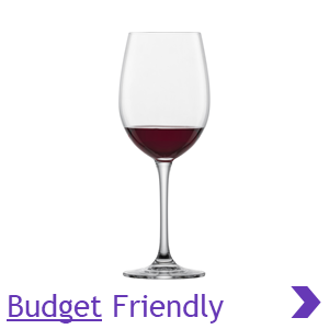ADIT Product Category Schott Zwiesel Budget Friendly RED Wine Glass Ranges Pointer