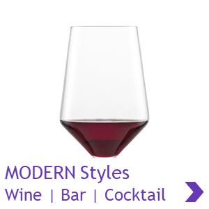 ADIT Schott Zwiesel MODERN Style Wine Glass Ranges