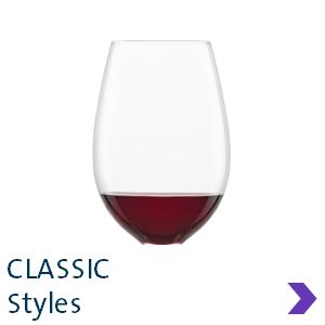 Schott Zwiesel CLASSIC Wine Glass Styles