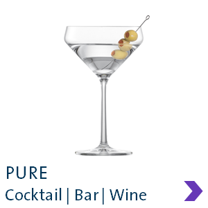 Schott Zwiesel PURE Cocktail Glass Range