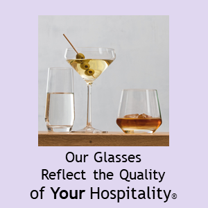 Schott ZWIESEL Our BAR Glasses Reflect The Quality Of Your Hospitality(r)