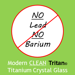 Schott Zwiesel Modern Clean Tritan(r) Titanium Crystal Glass No Lead No Barium