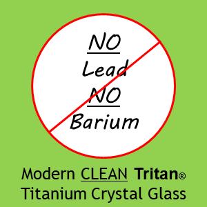 Schott Zwiesel Modern Clean Tritan(r) Titanium Crystal Glass