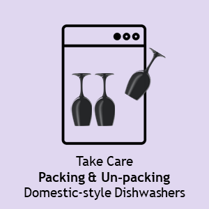 Schott Zwiesel Take Care Packing & Unpacking Dishwashers