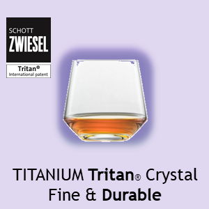 Schott Zwiesel Titanium Tritan(r) Crystal Fine & Durable BAR Glasses