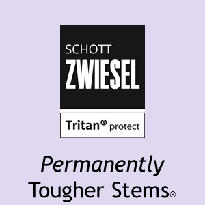 Schott Zwiesel Tritan(r) PROTECT Permanently Tougher Stems(r)