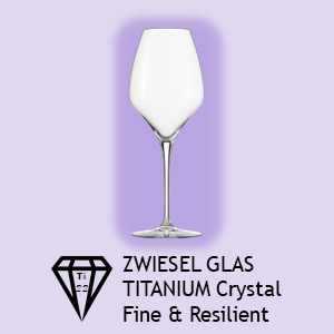 ADIT Curated Zwiesel Glas Logo Titanium Crystal Fine & Resilient