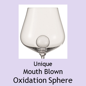 The Unique Zwiesel Glas Mouthblown Oxidation Sphere