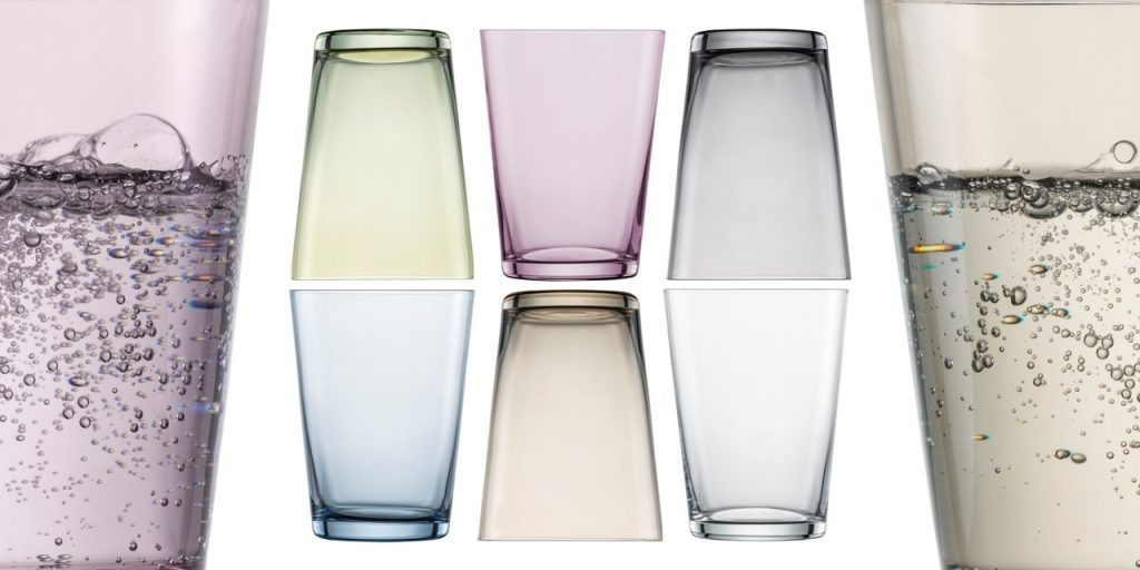 ADIT Schott Zwiesel Coloured Drinking Glass Ranges Banner