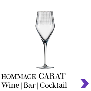 Zwiesel Glas CARAT Mouthblown Wine & Bar Glass Range Pointer