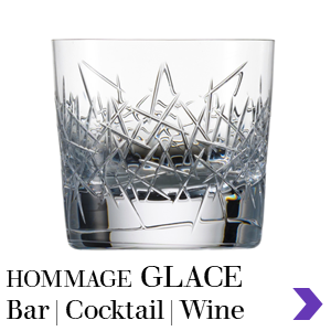 Zwiesel Glas HOMMAGE GLACE Mouthblown Bar Glasses Range Pointer
