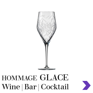 Zwiesel Glas HOMMAGE GLACE Mouthblown Wine & Bar Glass Range Pointer