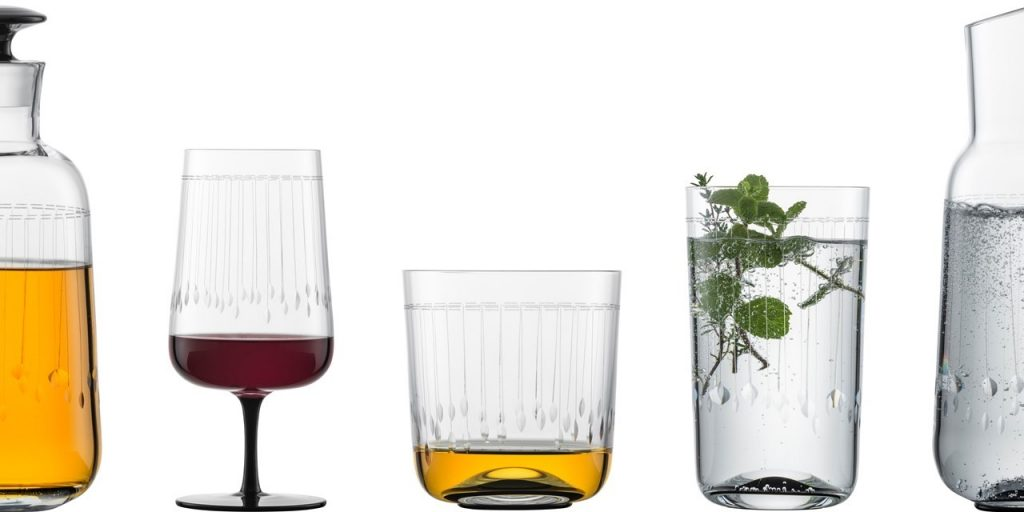 Zwiesel Glas GLAMOROUS Mouthblown Cut Glass Range
