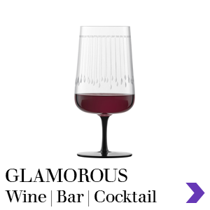 Zwiesel Glas GLAMOROUS Mouthblown Wine & Bar Glass Range Pointer