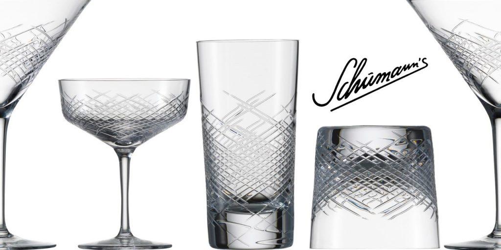 Zwiesel Glas HOMMAGE COMETE Mouthblown Cut Glass Bar Glass Range