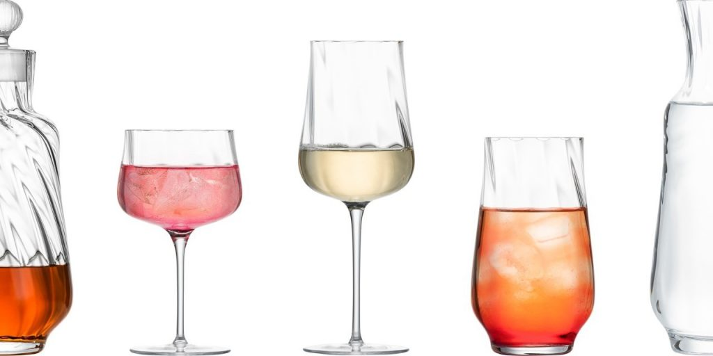 Zwiesel Glas MARLENE Mouthblown Decorated Bar Glass Range