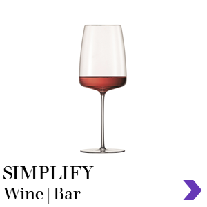 Zwiesel Glas SIMPLIFY Mouthblown Wine & Bar Glass Range Pointer