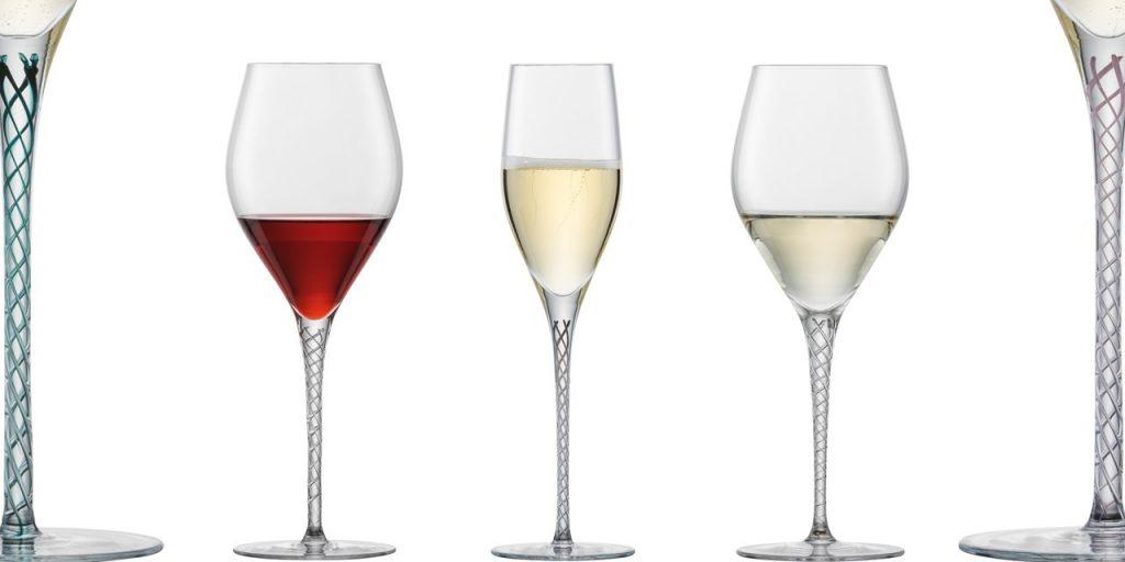 Zwiesel Glas SPIRIT Mouthblown Decorated Stem Wine Glass Range