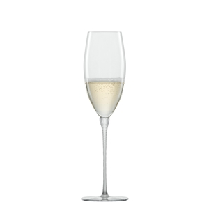 Zwiesel Glas HIGHNESS 121565 Mouthblown Champagne Flute with Effervescent Point 250ml