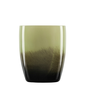 Zwiesel Glas SHADOW 121580 Small Vase Olive Green