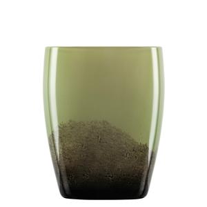 Zwiesel Glas SHADOW 121581 Medium Vase Olive Green
