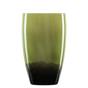 Zwiesel Glas SHADOW 121582 Large Vase Olive Green