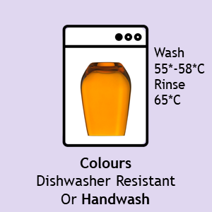 ADIT Curated Colours Dishwasher Resistant 55 to 65 C