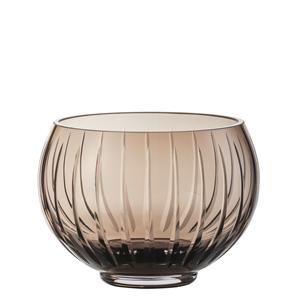 Zwiesel Glas Mouthblown SIGNUM 122248 Brown Votive Light H100mm