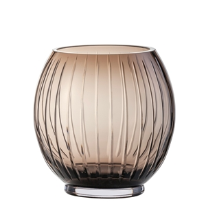 Zwiesel Glas Mouthblown SIGNUM 122252 Brown Vase H190mm