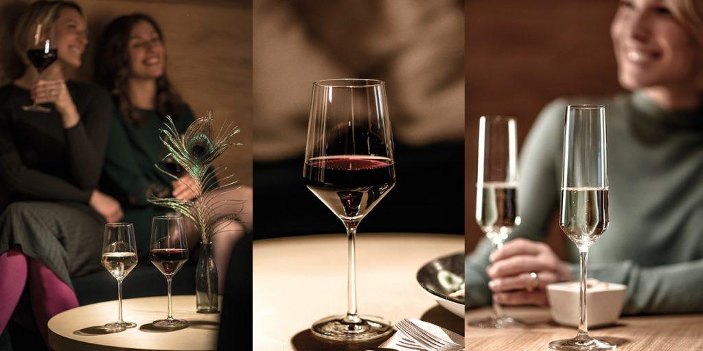 Zwiesel Glas PURE Wine Glass Range Banner