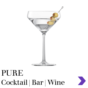 Zwiesel Glas Consumer Retail PURE Cocktail Bar Range Pointer