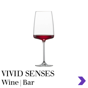 Zwiesel Glas Retail VIVID SENSES Wine Glass Range Pointer