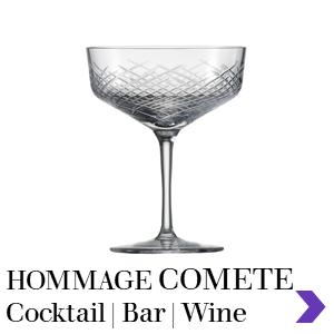 Zwiesel Glas Professional HOMMAGE COMETE Cocktail Range Pointer