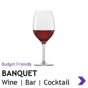Schott Zwiesel BANQUET wine glasses