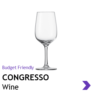 Schott Zwiesel CONGRESSO wine glasses