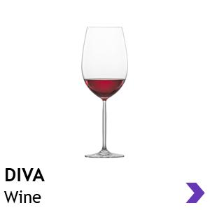 Schott Zwiesel DIVA wine glasses