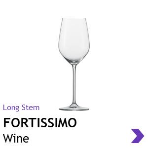 Schott Zwiesel FORTISSIMO wine glasses