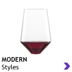 Schott Zwiesel MODERN style wine glasses