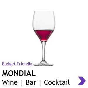 Schott Zwiesel MONDIAL wine glasses