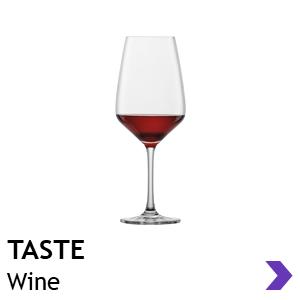 Schott Zwiesel TASTE wine glasses