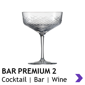 Zwiesel Glas Handmade BAR PREMIUM 2 Cocktail Glasses
