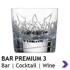 Zwiesel Glas Handmade BAR PREMIUM 3 Bar Glasses