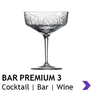 Zwiesel Glas Handmade BAR PREMIUM 3 Cocktail Glasses