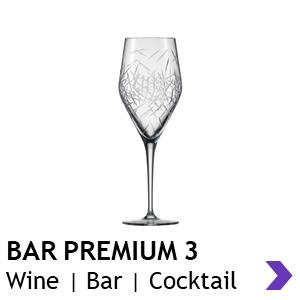 Zwiesel Glas Handmade BAR PREMIUM 3 Wine Glasses
