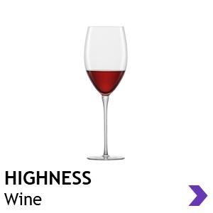 Zwiesel Glas Handmade HIGHNESS Wine Glasses