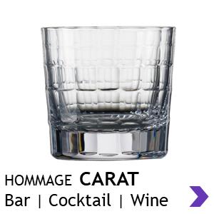 Zwiesel Glas Handmade HOMMAGE CARAT Bar Glasses