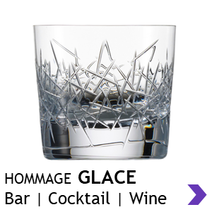 Zwiesel Glas Handmade HOMMAGE GLACE Bar Glasses