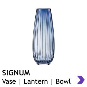 Zwiesel Glas Handmade SIGNUM Vases & Lanterns